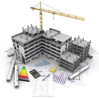 Fotolia_49871772_XS - Immeuble en contruction